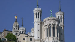 Presépio em Lyon (França)