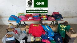 GNR apreende vestuário