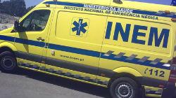 Dois feridos em acidente