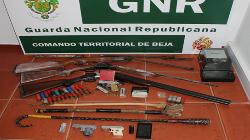 GNR de Ferreira deteve