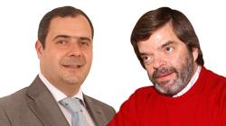Mário Simões e Luís Dargent