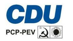 CDU apresenta lista