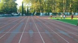 Provas de atletismo só