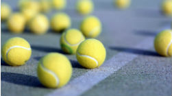 Novo campo de ténis