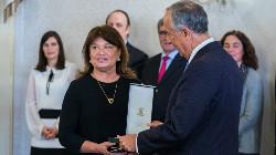Castro e Brito condecorado por Marcelo