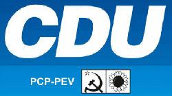 CDU revela candidatos