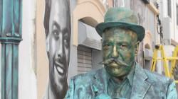"""Arte de rua """"enchem"""""""