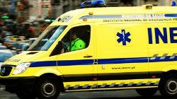 INEM com ambulâncias em