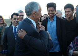 Marcelo deixa mensagem de esperança a jovens em Castro Verde
