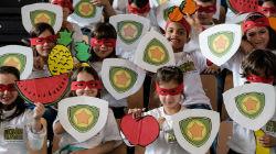 """""""Heróis da Fruta"""" em"""