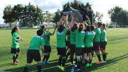 Futebol feminino: FC Castrense faz história