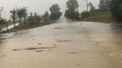 Chuva intensa provocou estragos no distrito de Beja