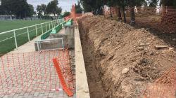 Obras avançam no Estádio