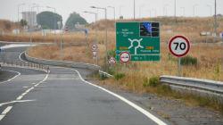 Troço da A26 em Ferreira