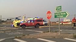 Castro Verde: Grande incêndio provoca quatro feridos