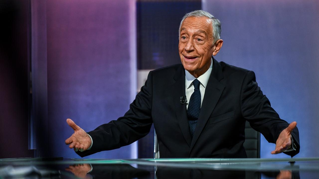 Marcelo reeleito Presidente da República. Também foi o mais votado no distrito de Beja