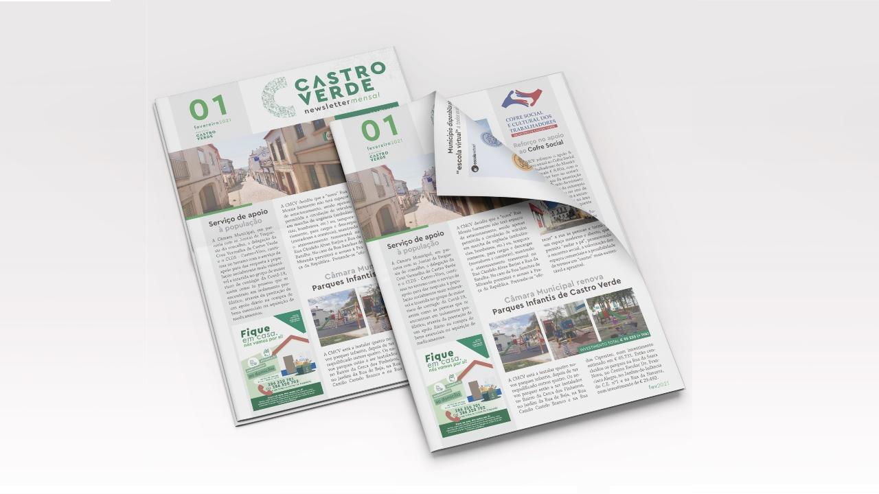 Câmara de Castro Verde lança newsletter