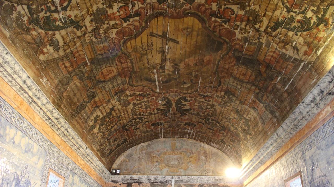 Tecto de madeira da Basílica de Castro Verde vai ser recuperado
