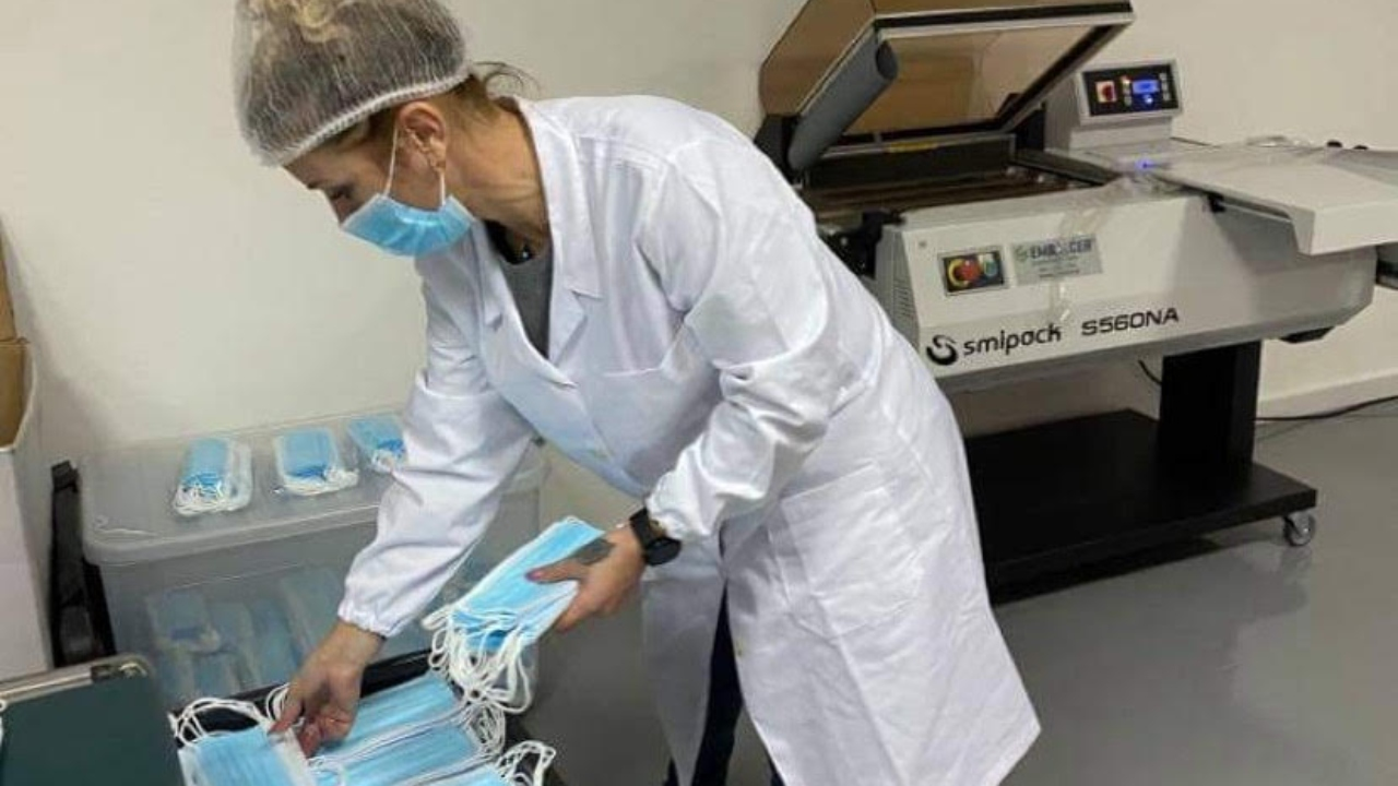Fábrica de máscaras abriu em Boavista dos Pinheiros