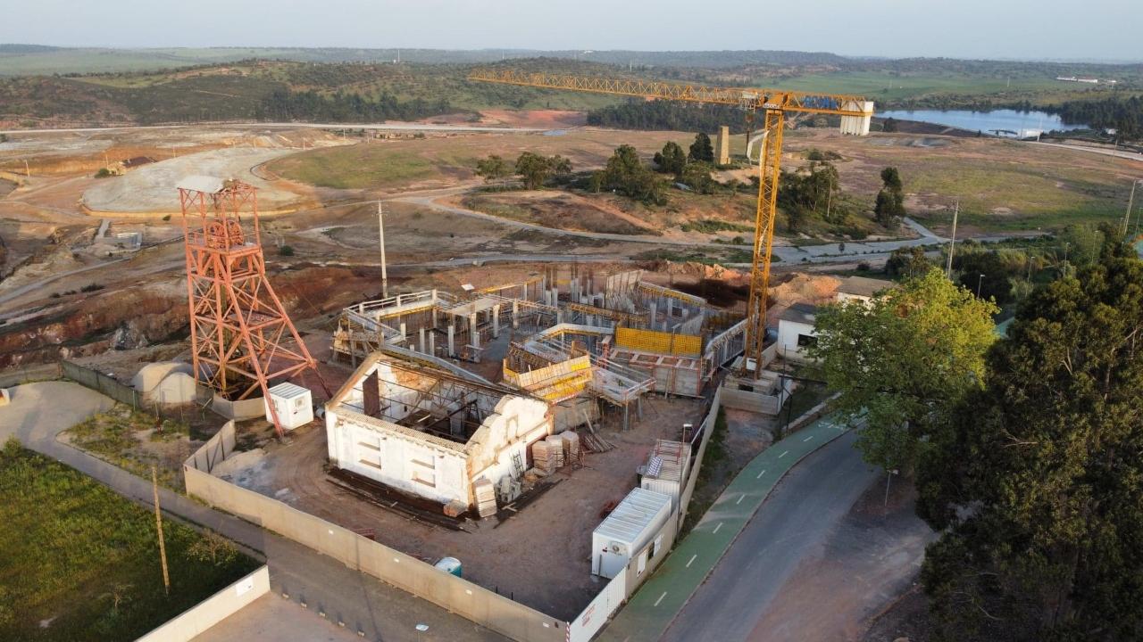 Aljustrel inicia construção do Centro de Receção e Acolhimento do Parque Mineiro