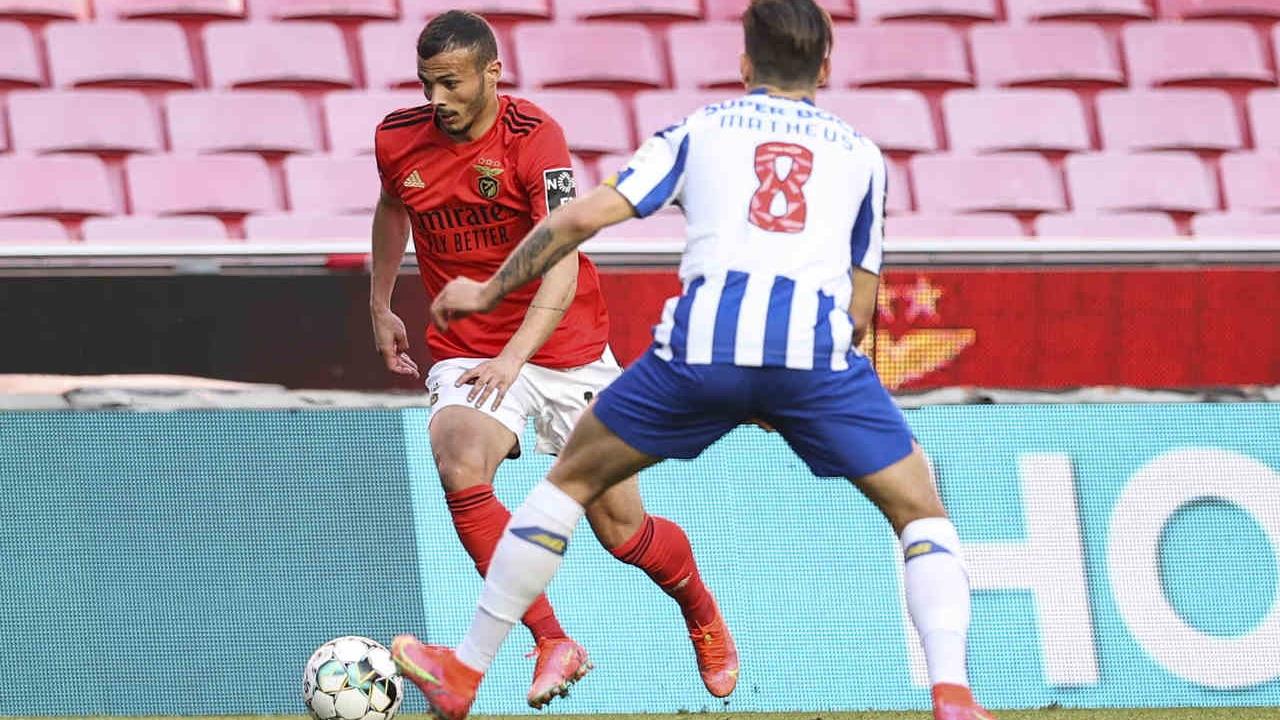 Benfica entrega distinção a Diogo Gonçalves