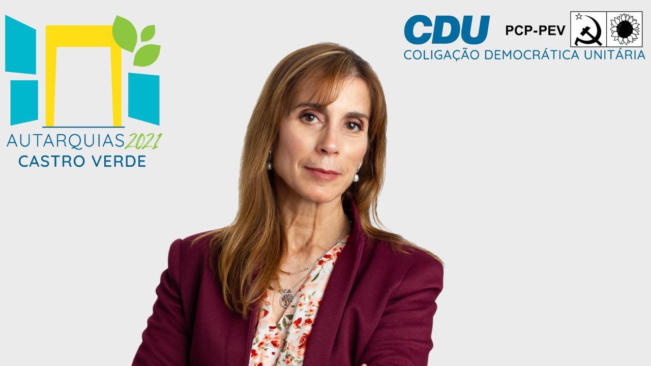 Ana Paula Baltazar mandatária da CDU em Castro Verde