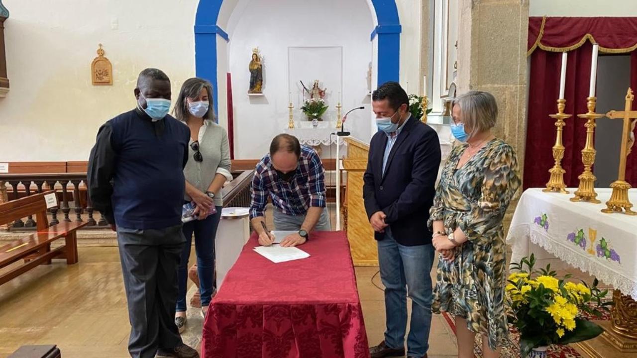 Obras de beneficiação da Igreja Matriz de Aljustrel avançam em julho
