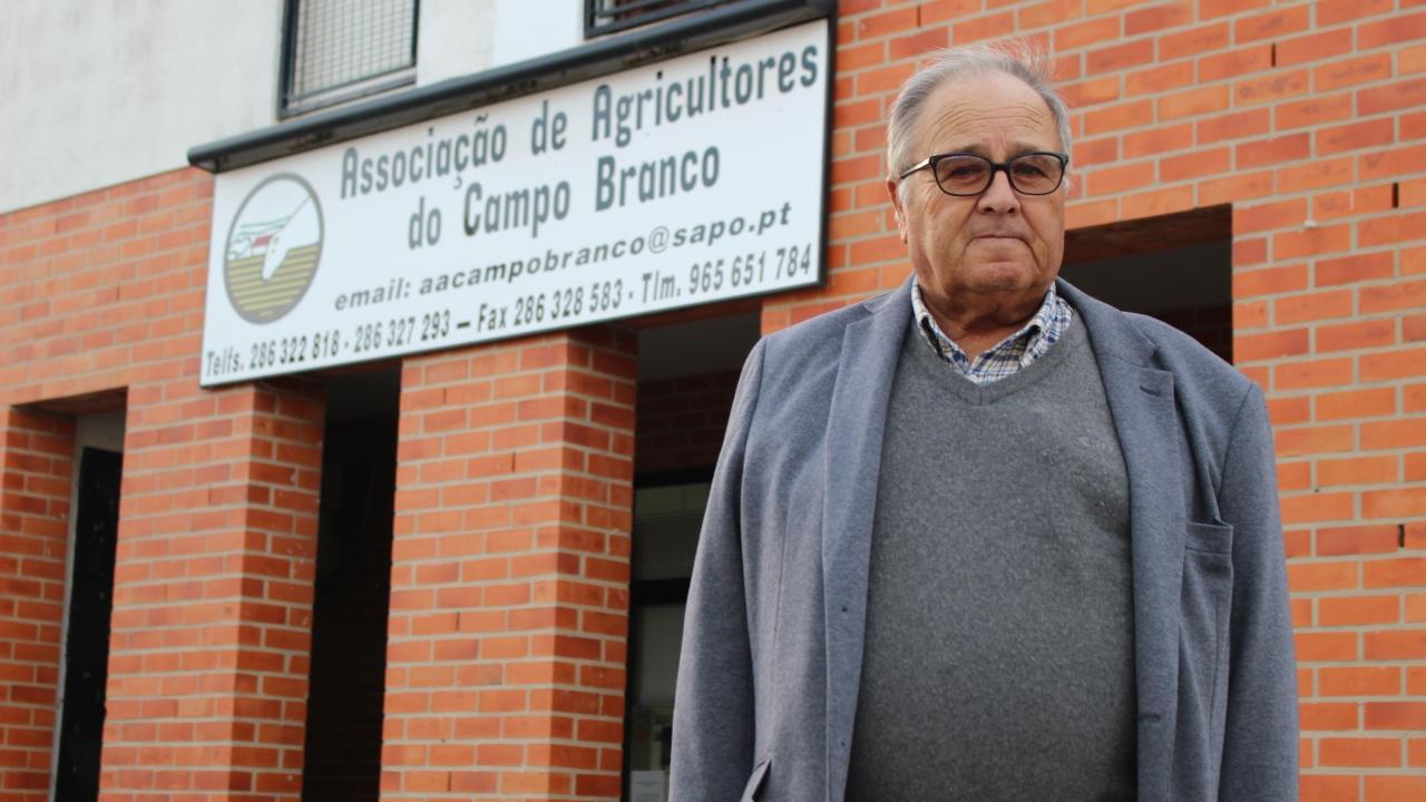"""José da Luz Pereira. """"Associação do Campo Branco é um marco para todos os agricultores"""""""