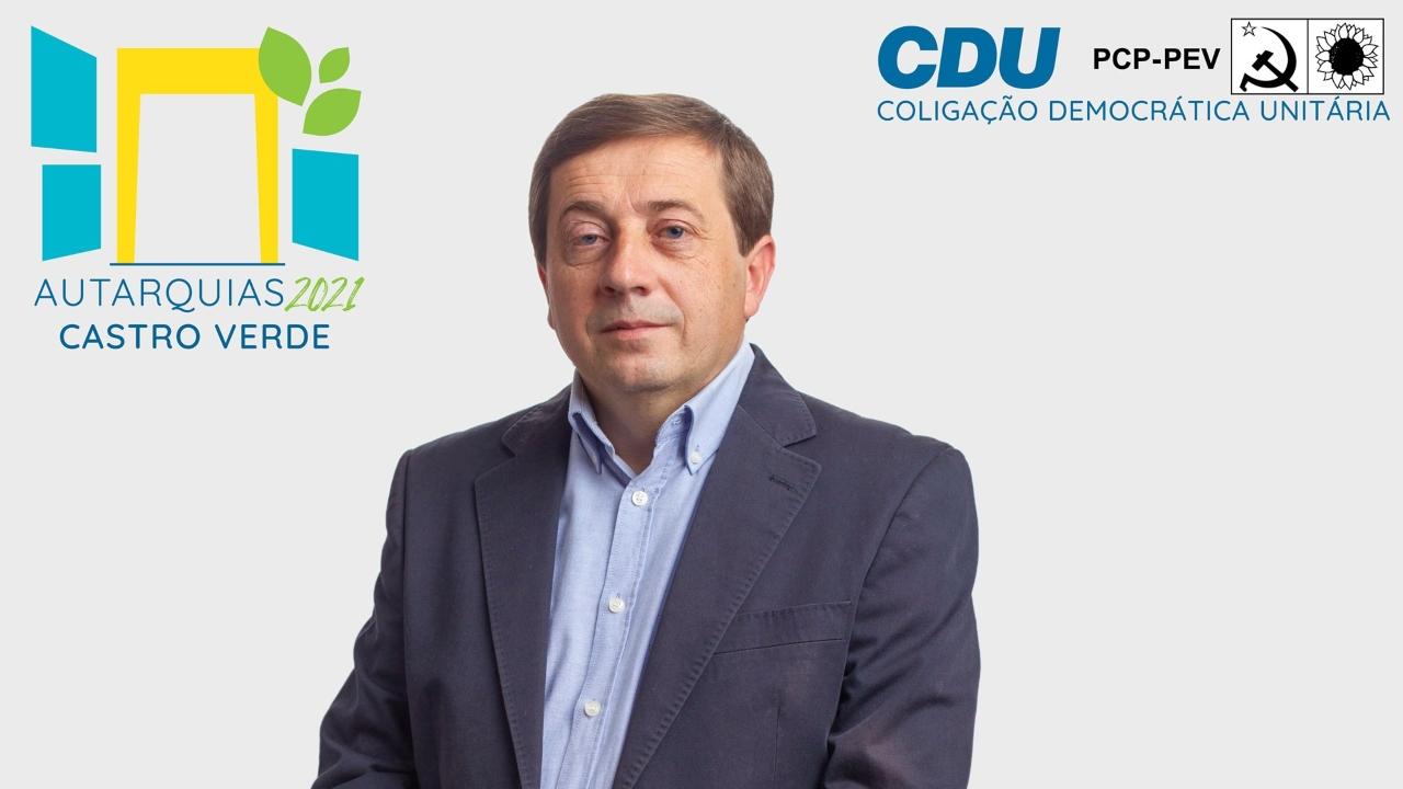 CDU candidata Paulo Nascimento à União de Freguesias de Castro Verde e Casével