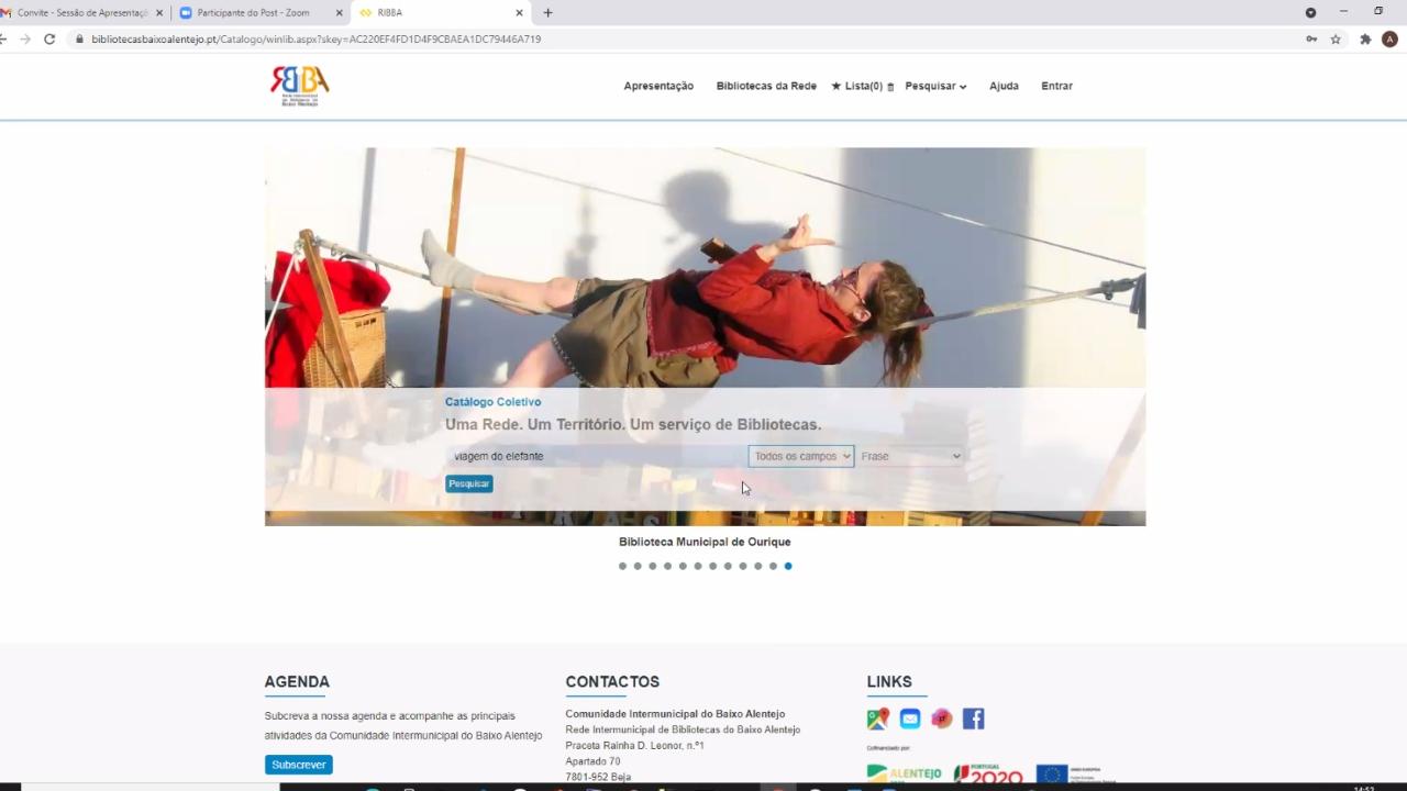 CIMBAL apresenta catálogo digital da rede de bibliotecas