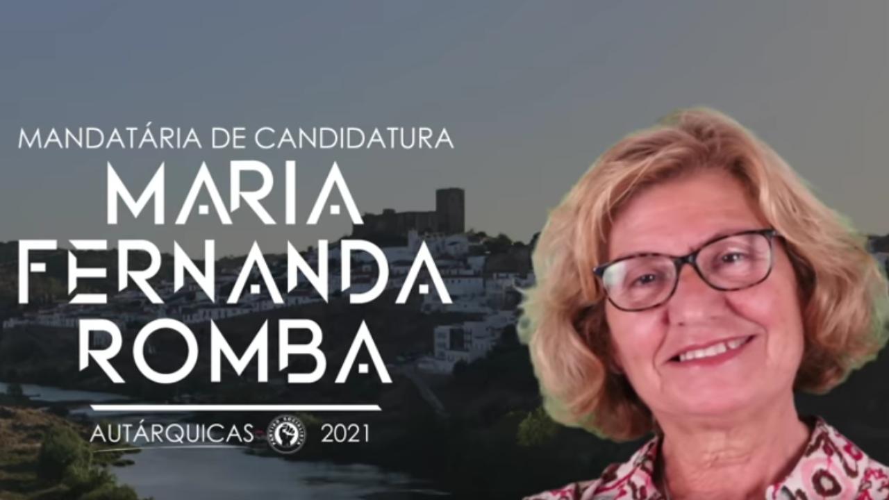 Autárquicas. Fernanda Romba mandatária do PS em Mértola