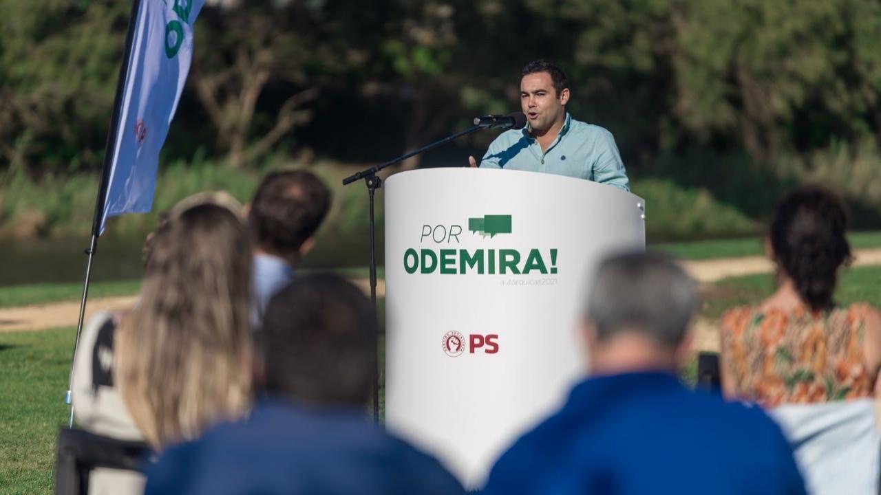 Autárquicas. Miguel Monteiro mandatário do PS em Odemira