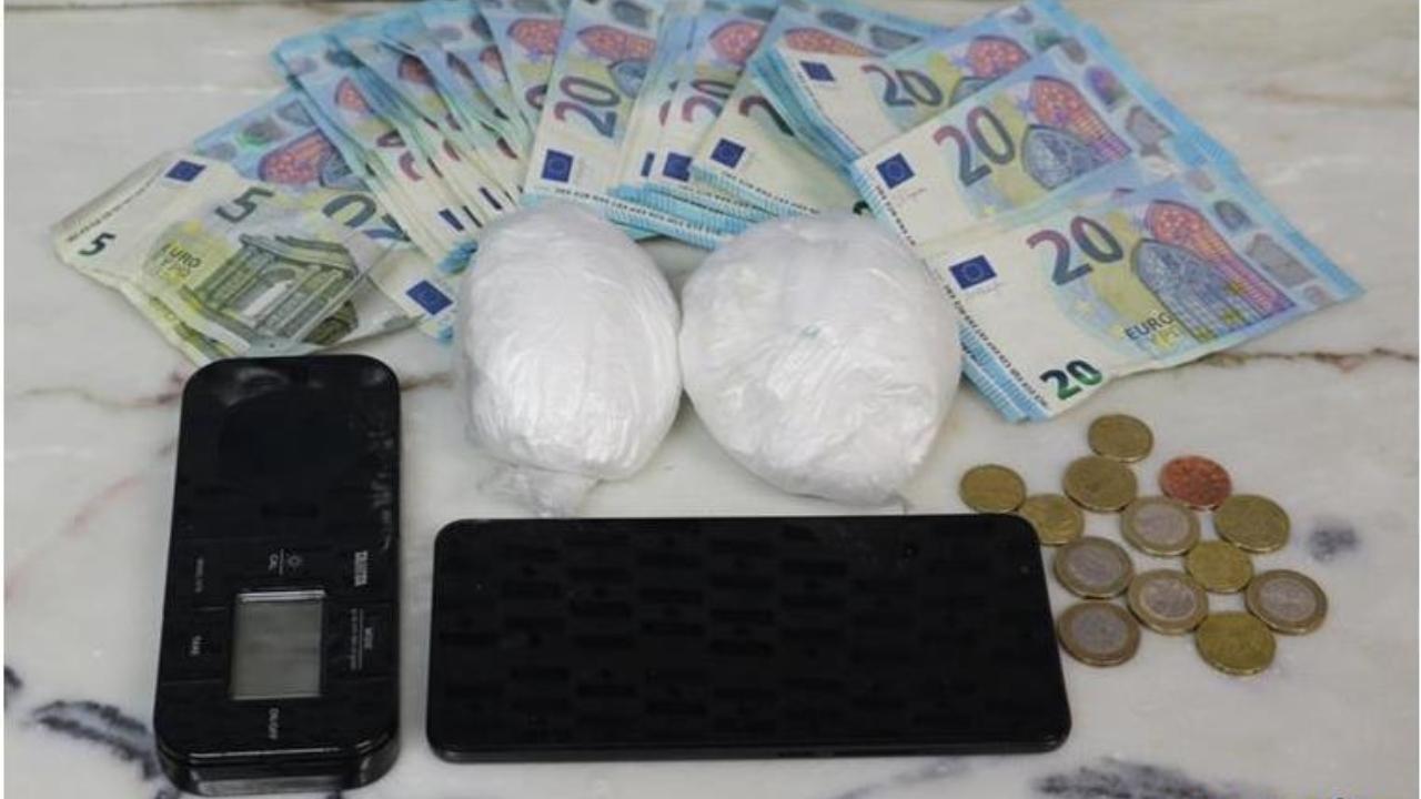 PSP deteve suspeito de tráfico de droga em Beja
