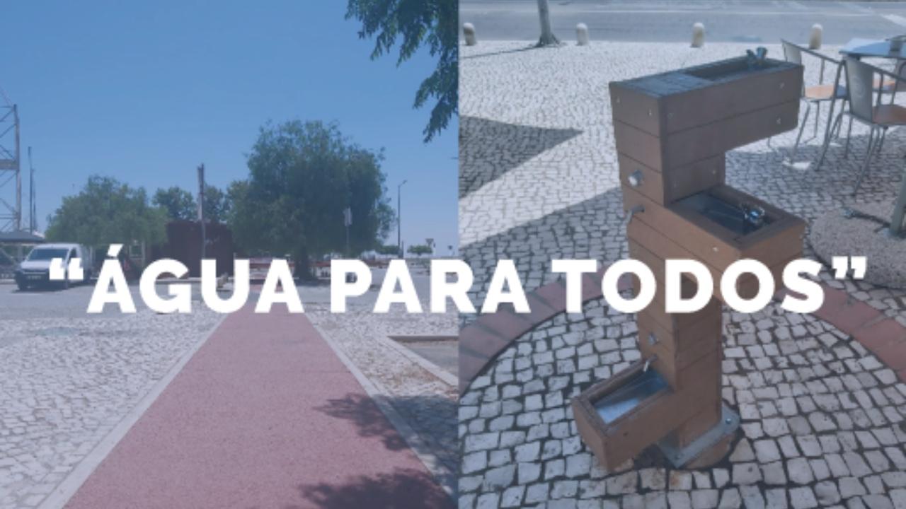 """""""Água para Todos"""" na cidade de Beja"""