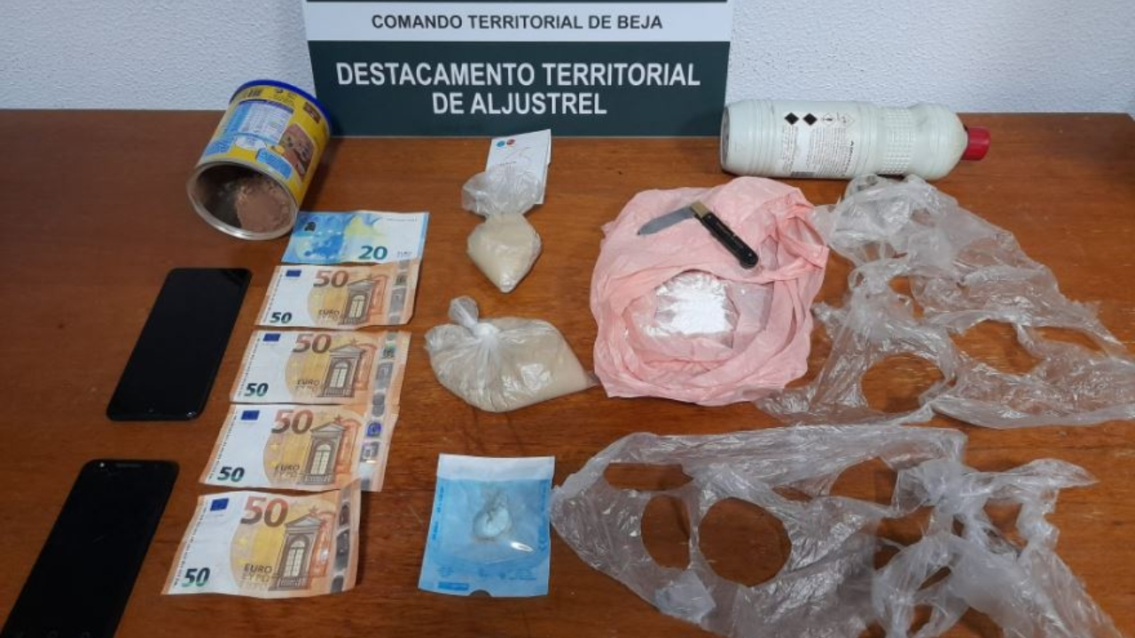 Prisão preventiva para suspeito de tráfico detido em Aljustrel