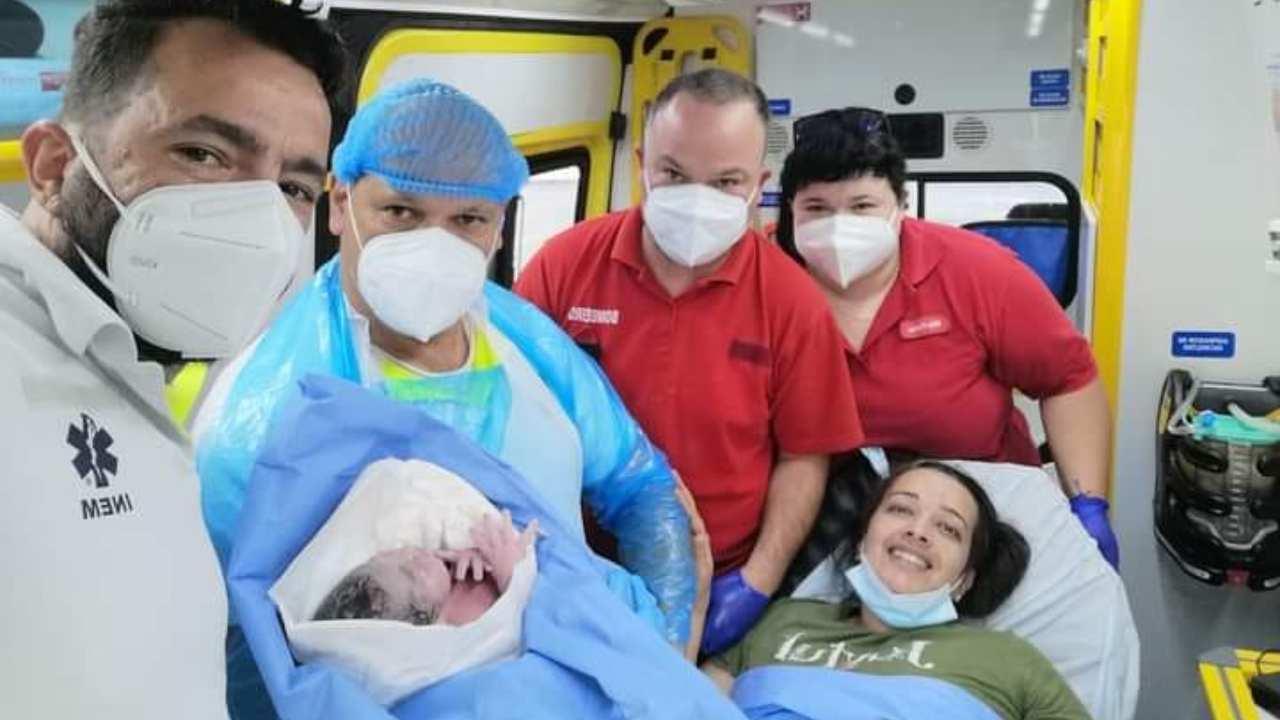 Bebé nasce em ambulância em Castro Verde