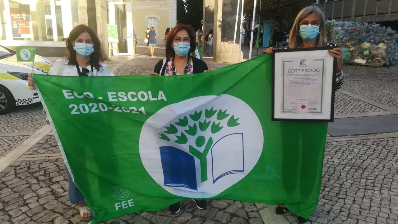 """Câmara e Agrupamento de Escolas de Aljustrel recebem bandeira """"Eco-Escolas 2021"""""""