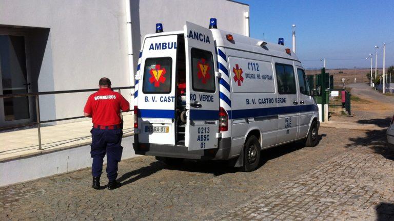Bombeiros de Castro Verde - ambulância